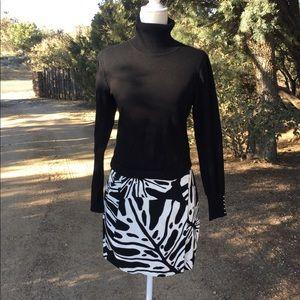 Diane Von Furstenberg Melissa wrap skirt size 8